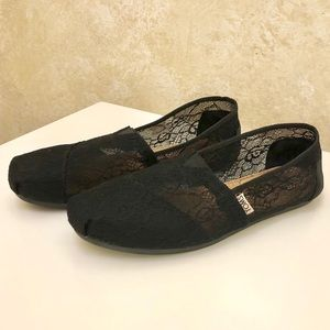 Toms Lace Slip On Shoes